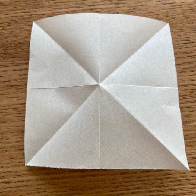 プリキュアのラテ 折り紙の折り方作り方 (7)