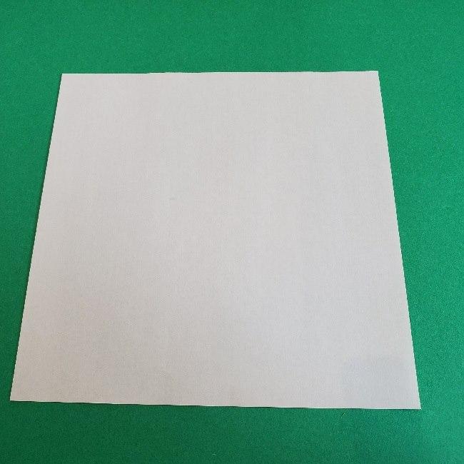 ペーパーマリオ オリガミキング『オリビア』の折り方作り方 (1)