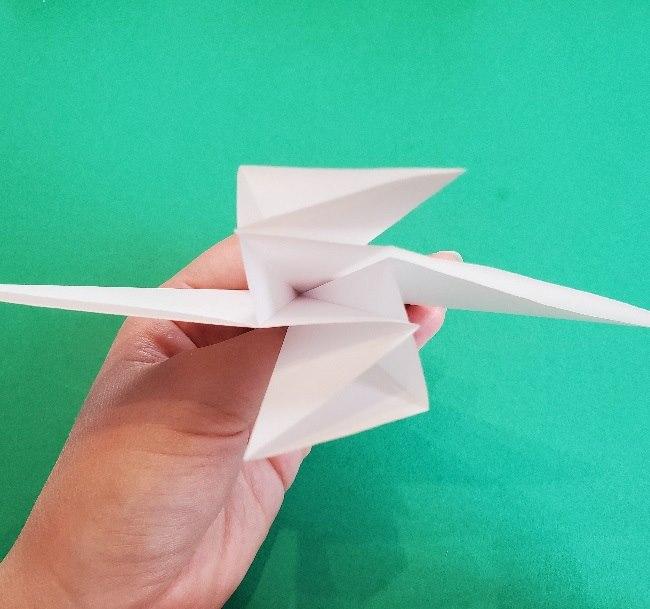 ペーパーマリオ オリガミキング『オリビア』の折り方作り方 (10)