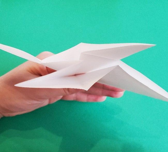 ペーパーマリオ オリガミキング『オリビア』の折り方作り方 (11)