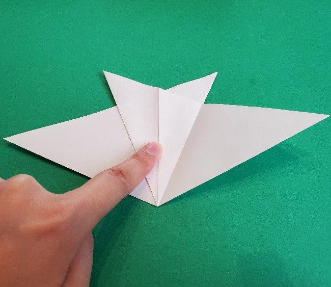 ペーパーマリオ オリガミキング『オリビア』の折り方作り方 (12)