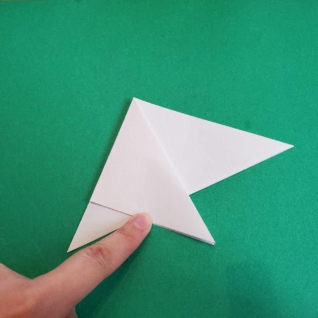 ペーパーマリオ オリガミキング『オリビア』の折り方作り方 (14)