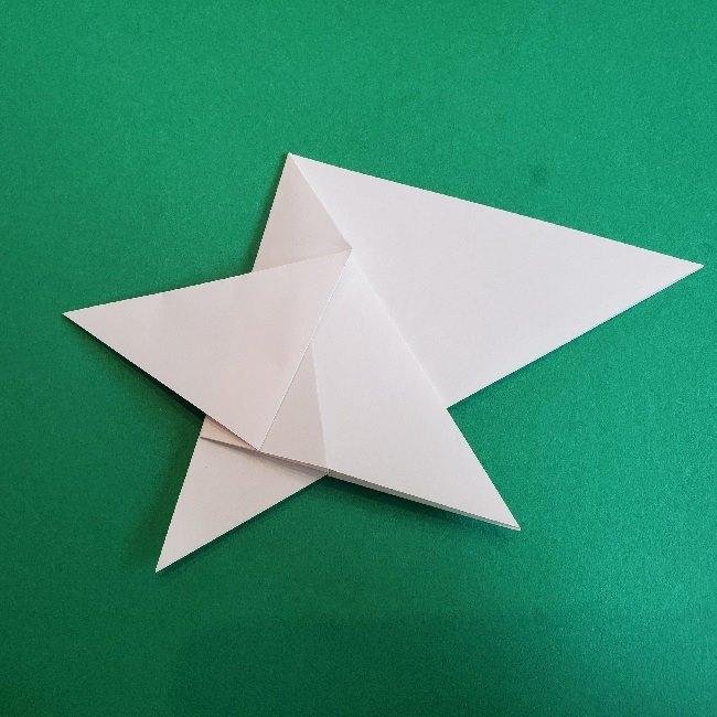 ペーパーマリオ オリガミキング『オリビア』の折り方作り方 (15)