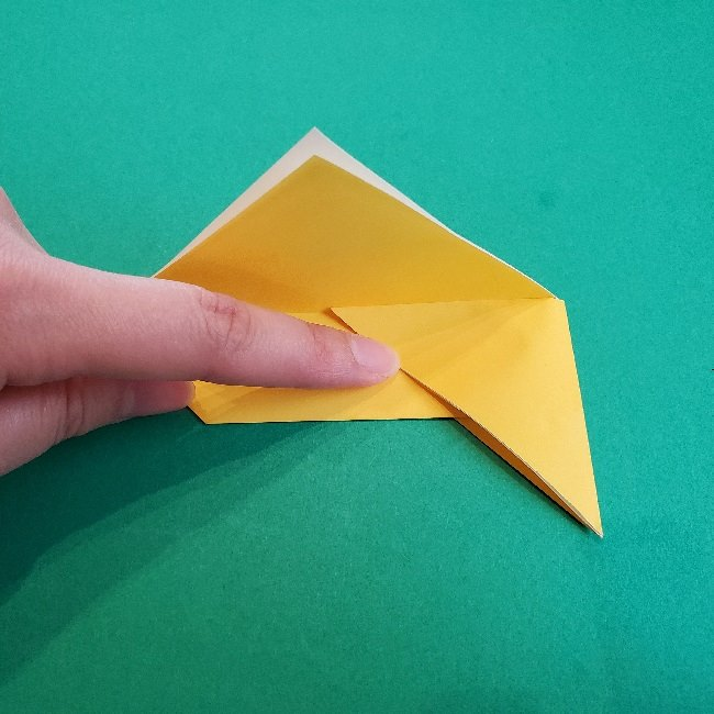 ペーパーマリオ オリガミキング『オリビア』の折り方作り方 (24)