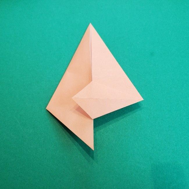 ペーパーマリオ オリガミキング『オリビア』の折り方作り方 (35)