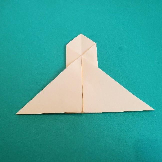 ペーパーマリオ オリガミキング『オリビア』の折り方作り方 (49)