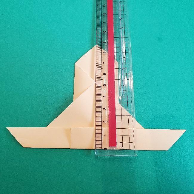 ペーパーマリオ オリガミキング『オリビア』の折り方作り方 (50)