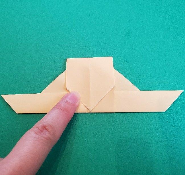 ペーパーマリオ オリガミキング『オリビア』の折り方作り方 (51)