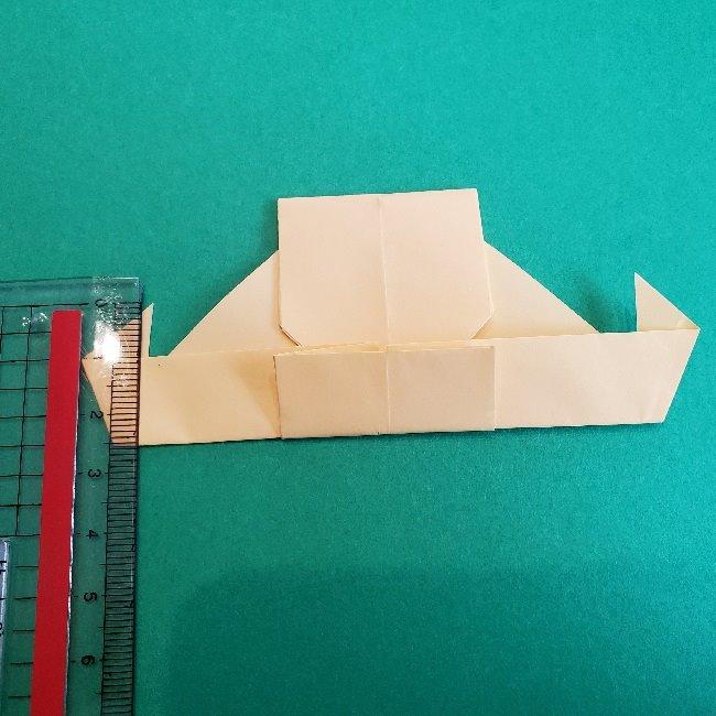 ペーパーマリオ オリガミキング『オリビア』の折り方作り方 (53)