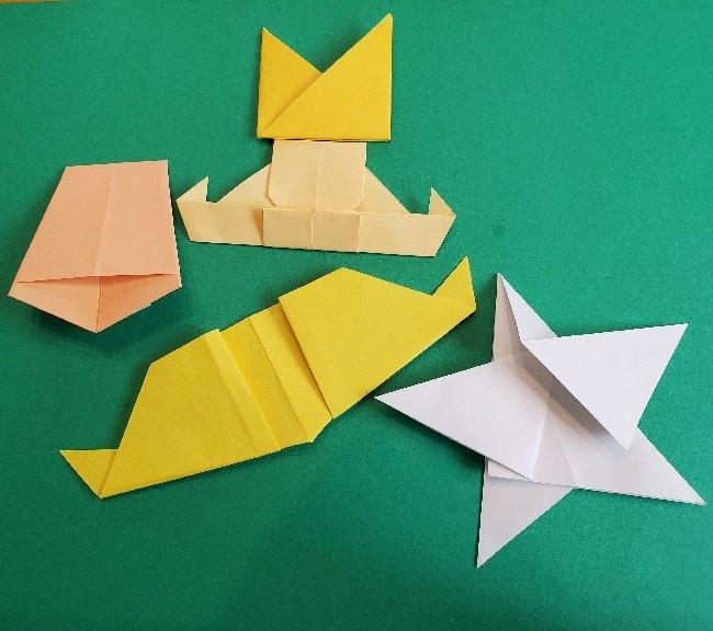 ペーパーマリオ オリガミキング『オリビア』の折り方作り方 (65)