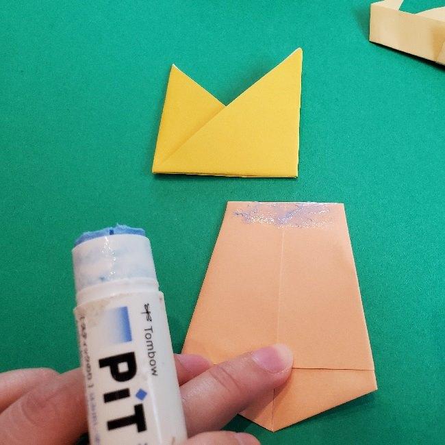 ペーパーマリオ オリガミキング『オリビア』の折り方作り方 (66)