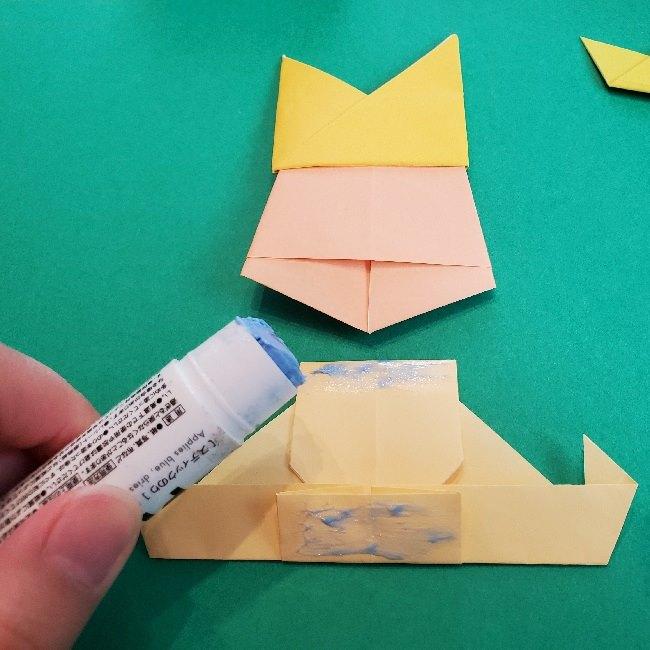ペーパーマリオ オリガミキング『オリビア』の折り方作り方 (67)