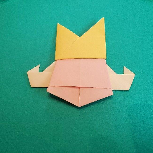 ペーパーマリオ オリガミキング『オリビア』の折り方作り方 (68)