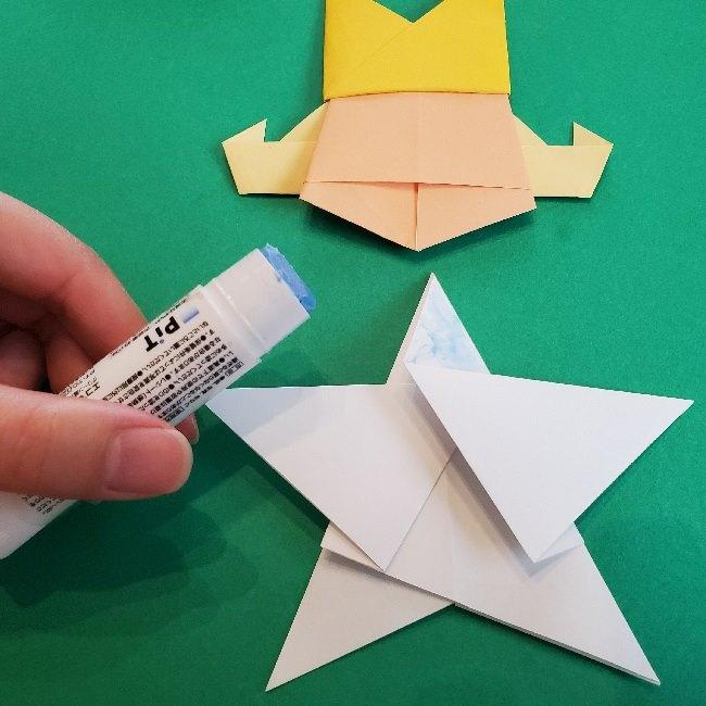 ペーパーマリオ オリガミキング『オリビア』の折り方作り方 (69)