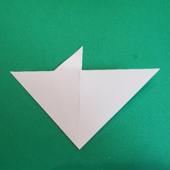 ペーパーマリオ オリガミキング『オリビア』の折り方作り方 (7)