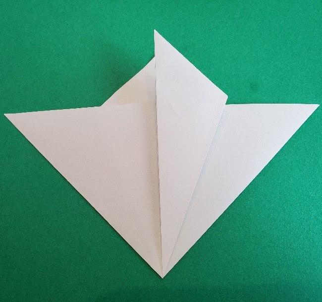 ペーパーマリオ オリガミキング『オリビア』の折り方作り方 (8)