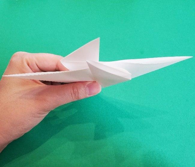 ペーパーマリオ オリガミキング『オリビア』の折り方作り方 (9)
