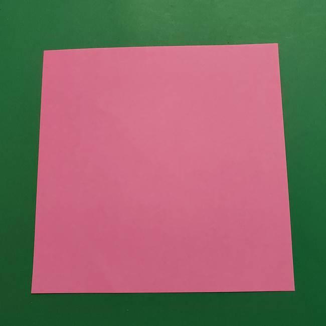 ポケモンの折り紙 ヤドンに必要なもの(1)