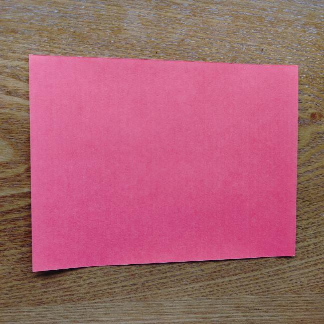 ポケモンボールの折り方作り方 (1)