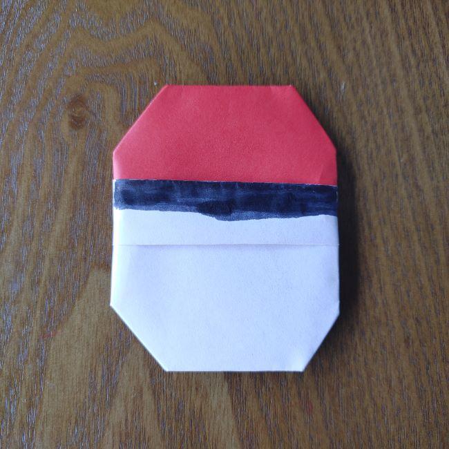 ポケモンボールの折り方作り方 (14)
