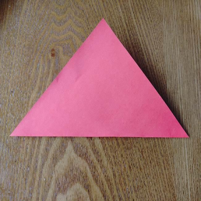 ポケモンボールの折り方作り方 (2)