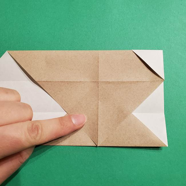 ポケモン(ポケットモンスター)折り紙のディグダの折り方作り方(11)