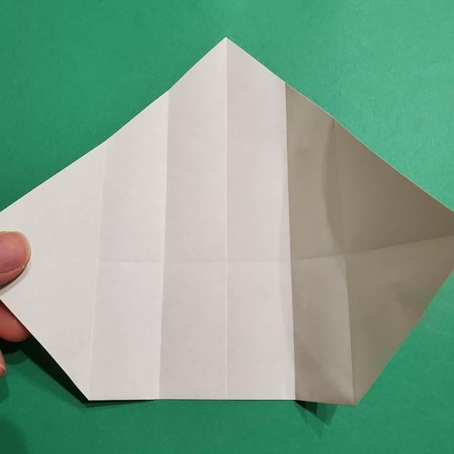 ポケモン(ポケットモンスター)折り紙のディグダの折り方作り方(12)