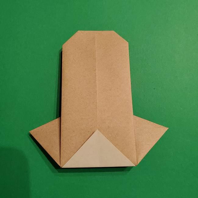 ポケモン(ポケットモンスター)折り紙のディグダの折り方作り方(26)