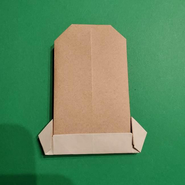 ポケモン(ポケットモンスター)折り紙のディグダの折り方作り方(29)