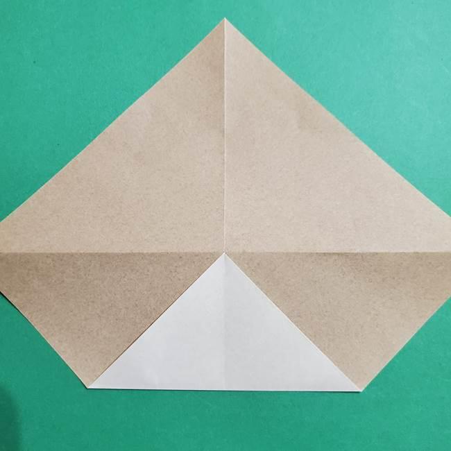 ポケモン(ポケットモンスター)折り紙のディグダの折り方作り方(6)