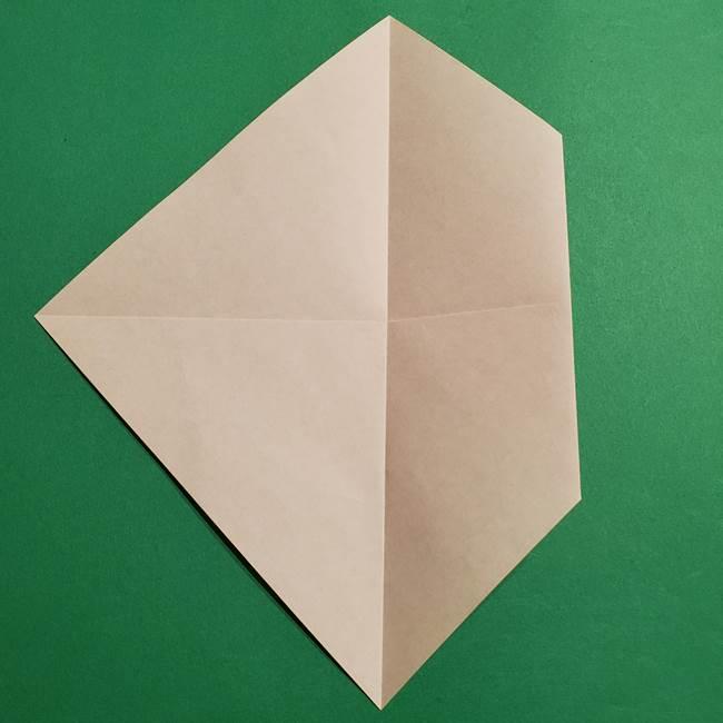 ポケモン(ポケットモンスター)折り紙のディグダの折り方作り方(7)