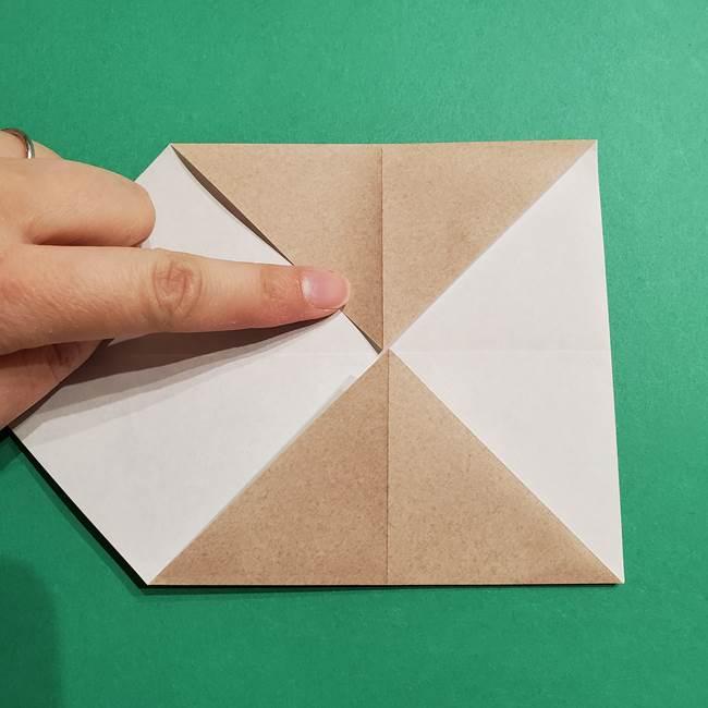 ポケモン(ポケットモンスター)折り紙のディグダの折り方作り方(8)