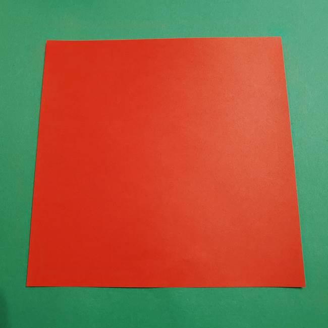 ポケモン折り紙 コイキングの材料*必要なもの(1)