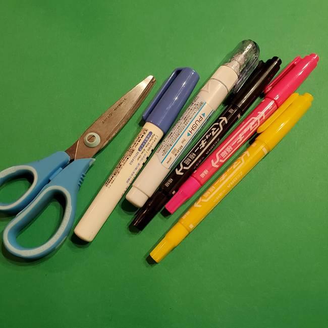 ポケモン折り紙 コイキングの材料*必要なもの(2)