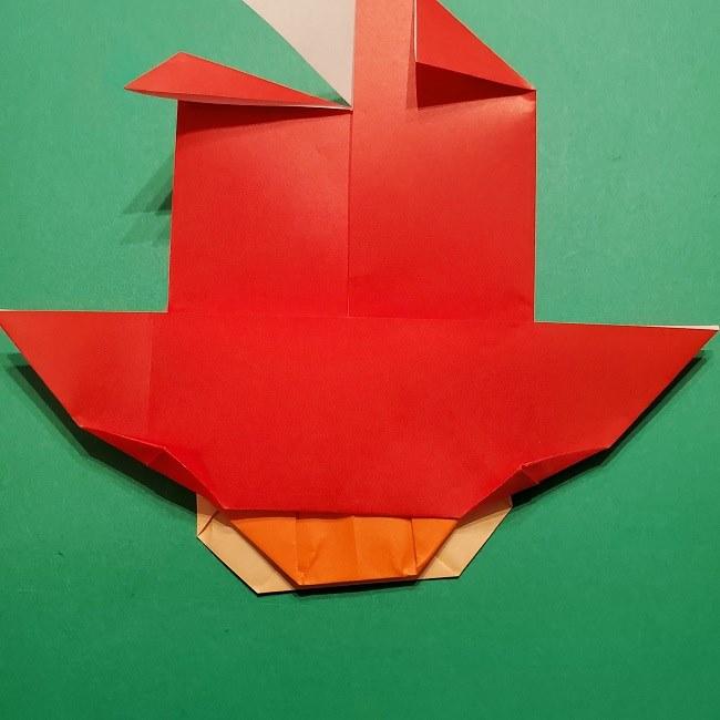 ポニョの折り紙 簡単な作り方折り方完成 (10)