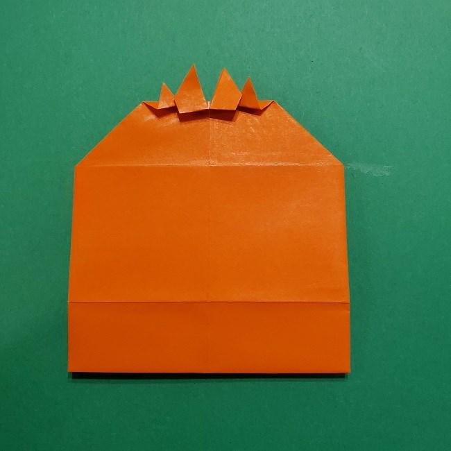 ポニョの折り紙 簡単な作り方折り方完成 (3)