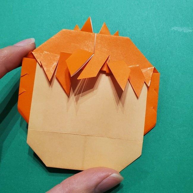ポニョの折り紙 簡単な作り方折り方完成 (6)