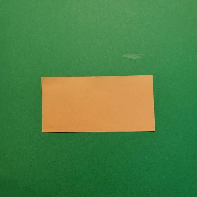 ポニョの折り紙 簡単な作り方折り方1顔 (2)