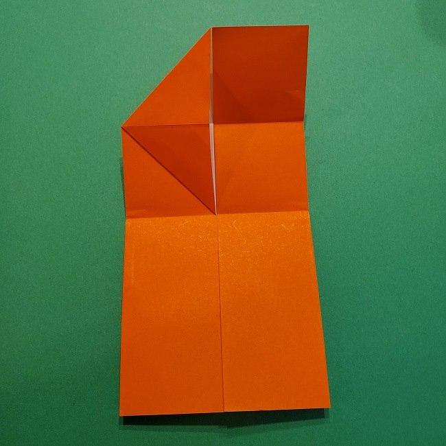 ポニョの折り紙 簡単な作り方折り方2髪 (11)