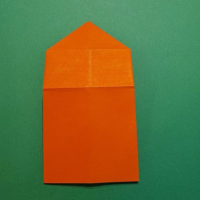 ポニョの折り紙 簡単な作り方折り方2髪 (13)