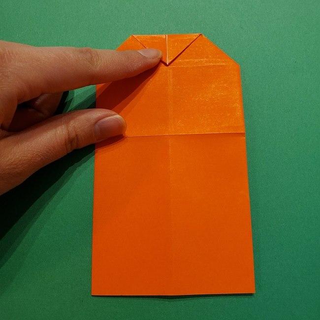 ポニョの折り紙 簡単な作り方折り方2髪 (14)