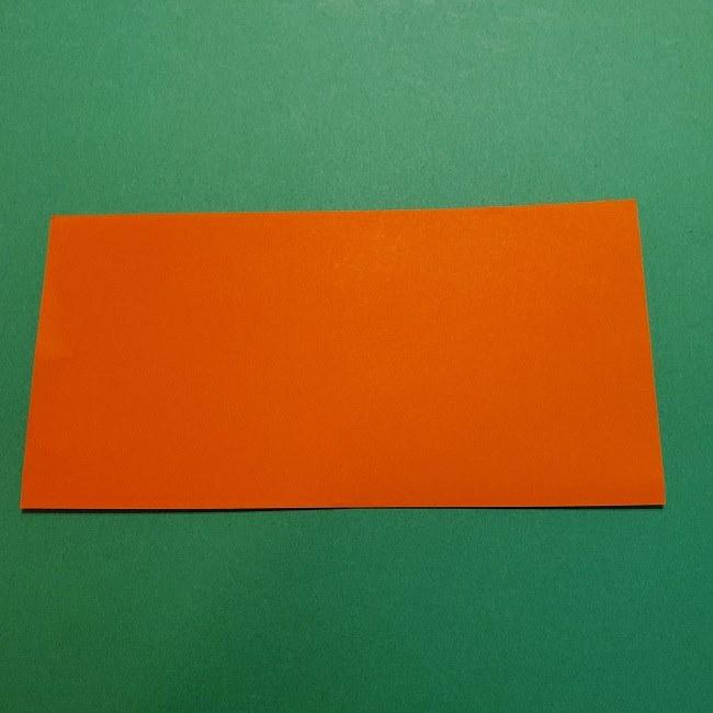 ポニョの折り紙 簡単な作り方折り方2髪 (2)