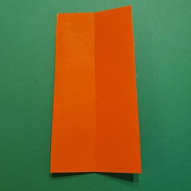 ポニョの折り紙 簡単な作り方折り方2髪 (5)