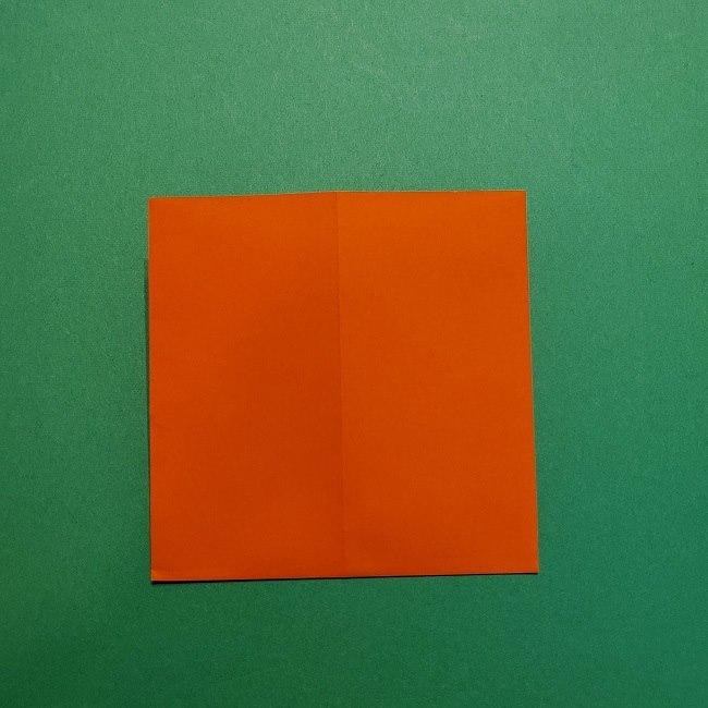ポニョの折り紙 簡単な作り方折り方2髪 (6)