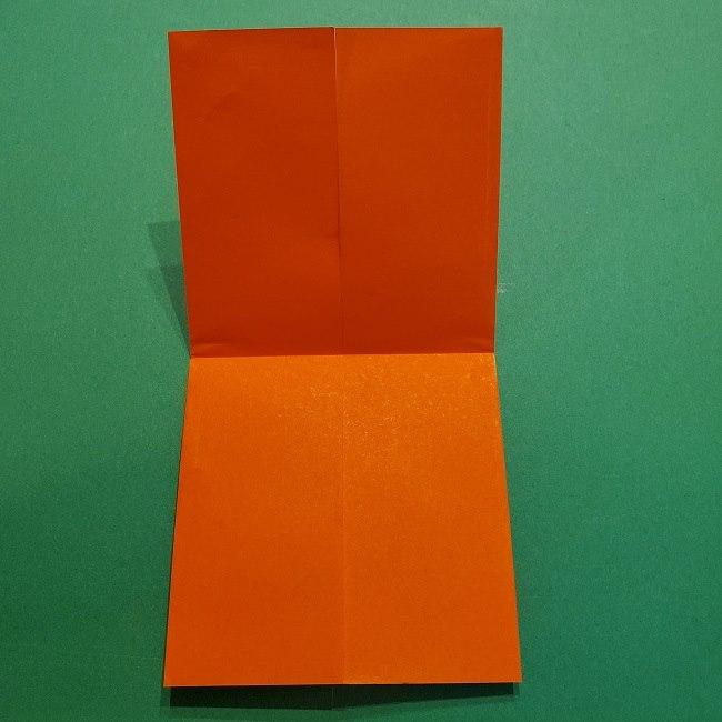 ポニョの折り紙 簡単な作り方折り方2髪 (7)