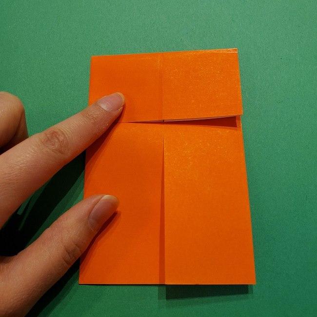 ポニョの折り紙 簡単な作り方折り方2髪 (8)