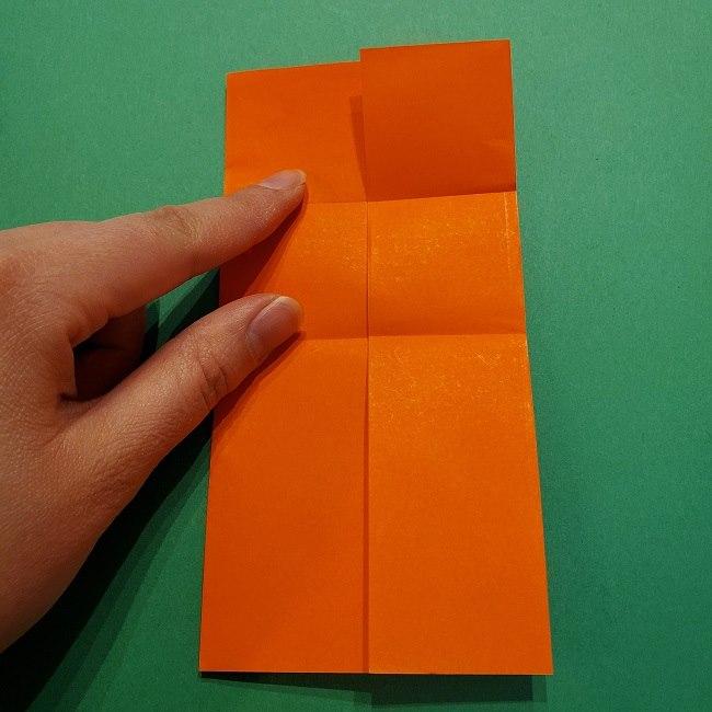 ポニョの折り紙 簡単な作り方折り方2髪 (9)