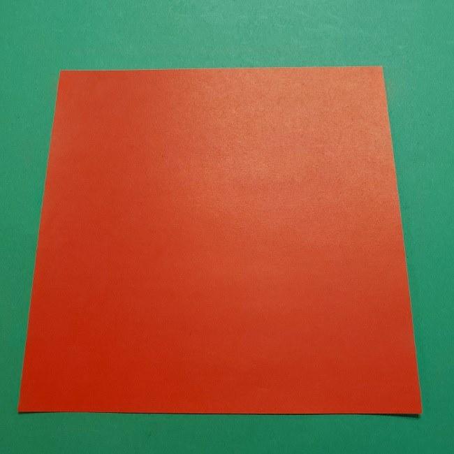 ポニョの折り紙 簡単な作り方折り方3体 (1)
