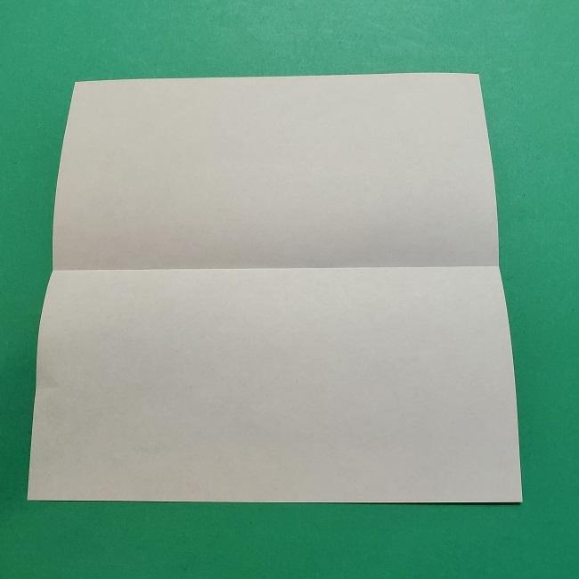 ポニョの折り紙 簡単な作り方折り方3体 (3)