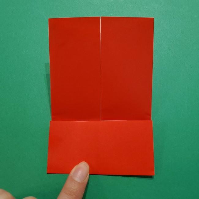 ポニョの折り紙 簡単な作り方折り方3体 (8)